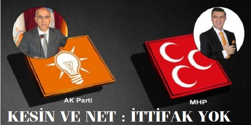 Kesin ve Net Bilgi : AK Parti ve MHP Kars'ta kendi adaylarıyla seçime girecek