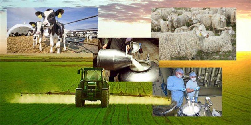 Tüm tarımsal ve hayvansal kayıtlar tek ekranda