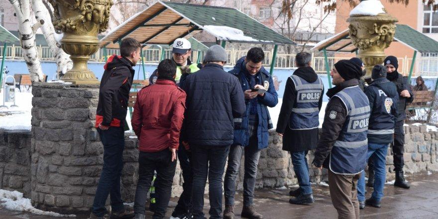 Kars'ta 193 polisin katılımıyla asayiş uygulaması yapıldı