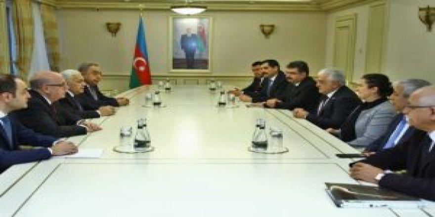 TBMM Türkiye-Azerbaycan Parlamentolar Arası Dostluk Grubu Azerbaycan'da