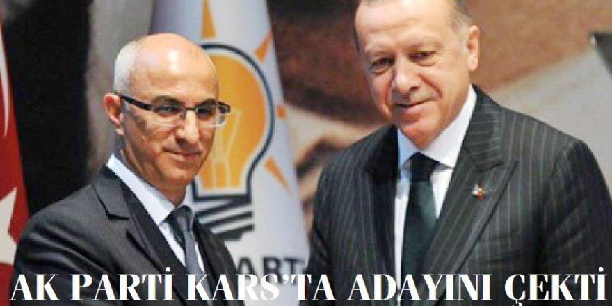 AK Parti Kars'ta Belediye Başkan adayını çekti