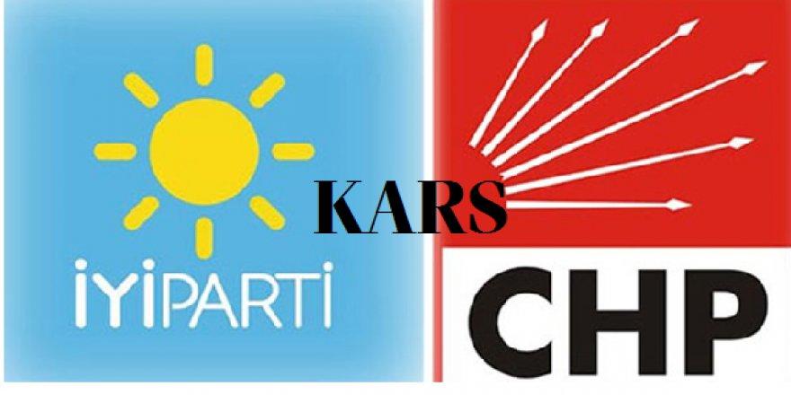 Kars'ta İYİ Parti - CHP İttifakı Görüşmelerine İlişkin Açıklama