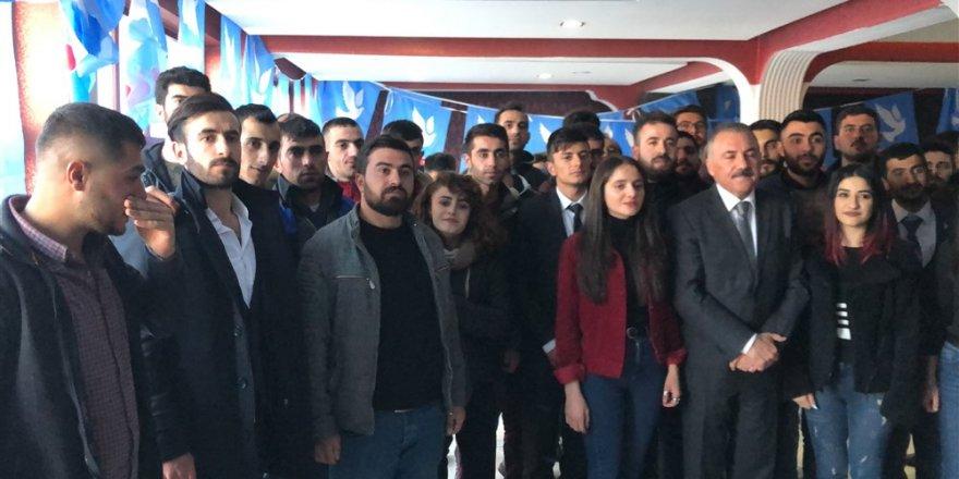 DSP Adayı Naif Alibeyoğlu, seçim çalışmalarını aralıksız sürdürüyor