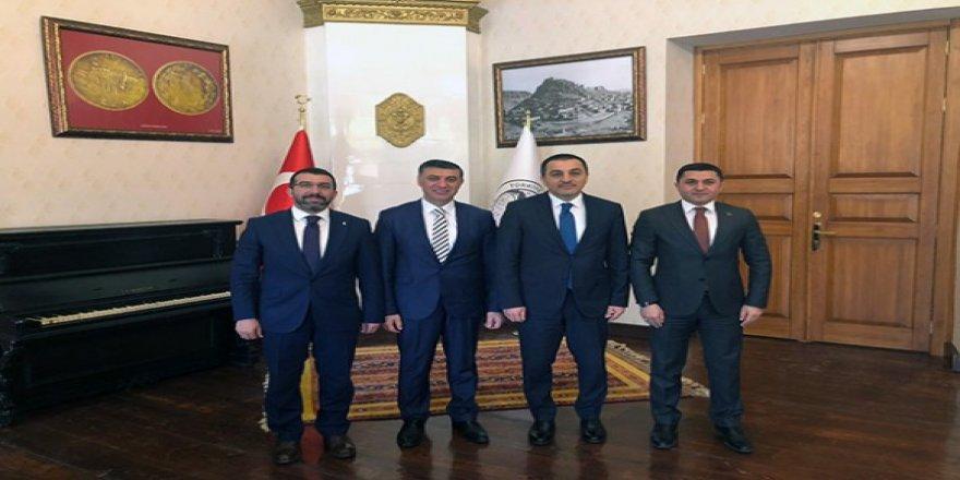 Cumhur İttifakından Vali Türker Öksüz'e ziyaret