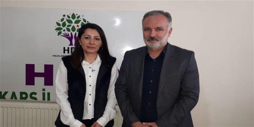 HDP Kars Belediye Eşbaşkan adayları, Şeffaflık Taahhütnamesi imzaladı
