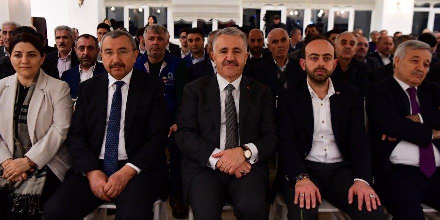 """Ulaştırma Eski Bakanı Arslan: """"Ataşehir'e İsmail Erdem yakışır"""""""