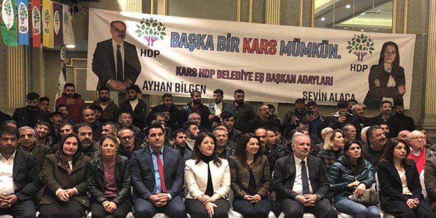 HDP Eş Genel Başkanı Pervin Buldan Kars'ta