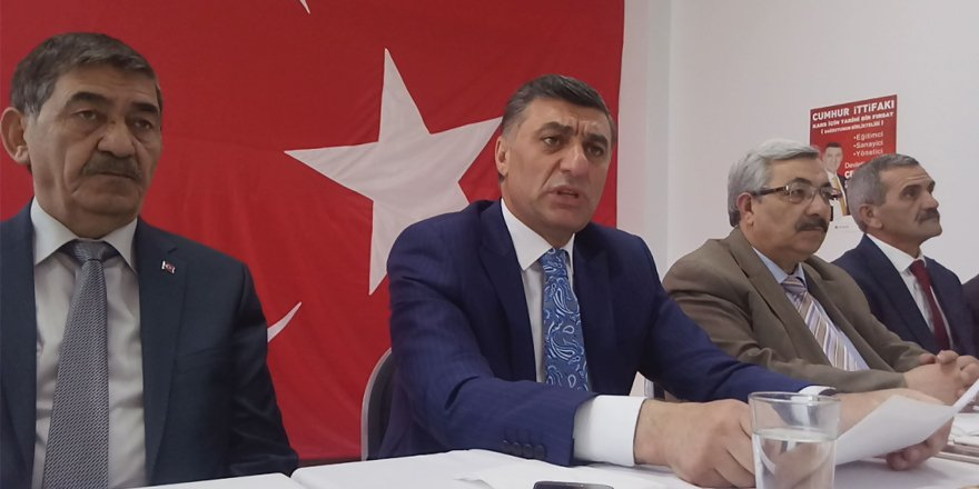 Cumhur İttifakı Kars Belediye Başkan Adayı Çetin Nazik: Sorunları Bitireceğiz…