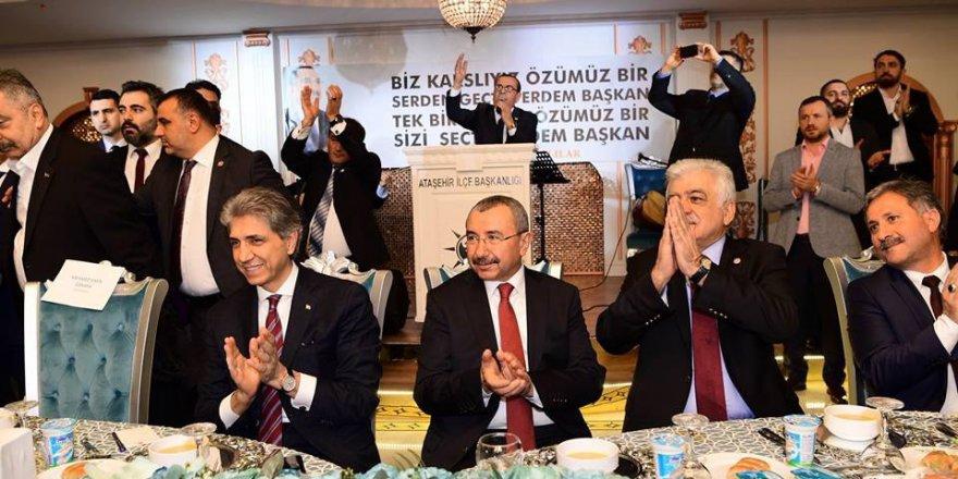 AK Parti Ataşehir Adayı İsmail Erdem, Kars, Ardahan, Iğdırlılar ile bir araya geldi