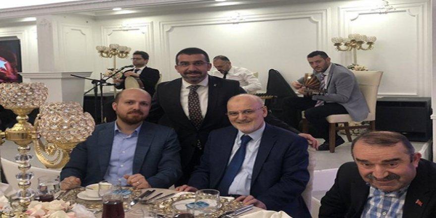 İstanbul'daki özel davetin konuğu AK Parti Kars İl Başkanı Adem Çalkın