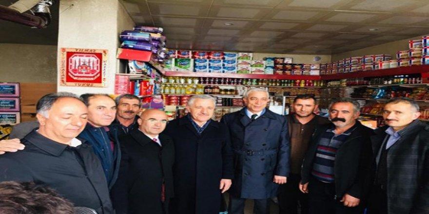 AK Parti Milletvekilleri Selim'de coşkuyla karşılandı