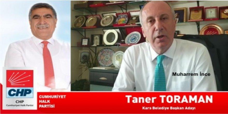 Muharrem İnce'den CHP Adayı Taner Toraman'a destek mesajı