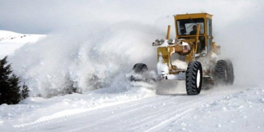 Kars'ta 17 köy yolu ulaşıma kapalı bulunuyor
