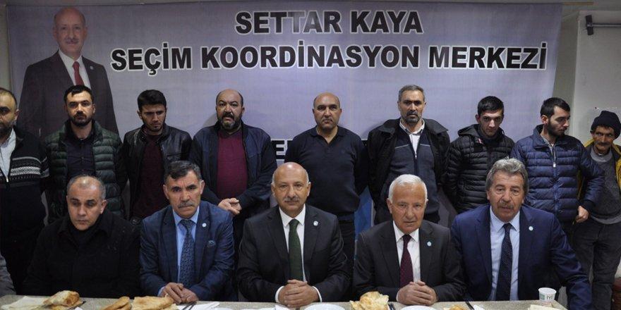 "İYİ Parti Adayı Settar Kaya :  ""Kars'ı Karslılar Yönetsin"""