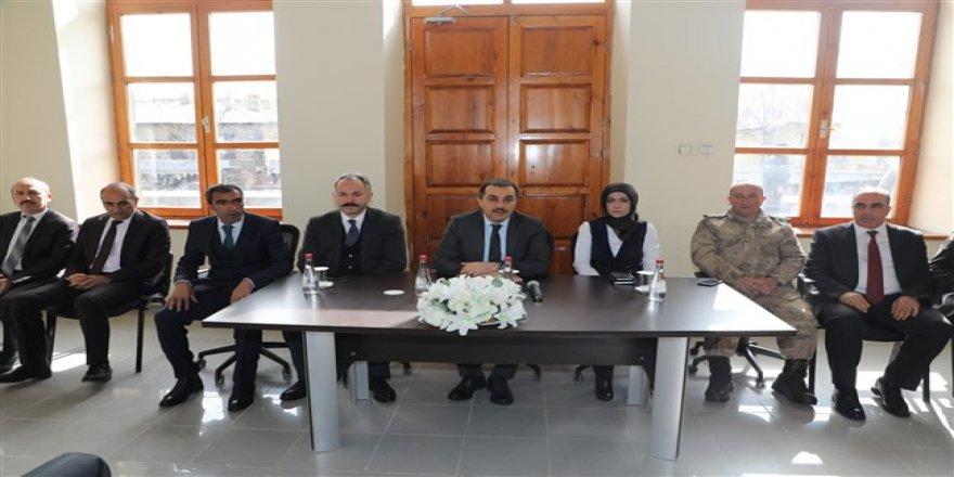 Kars Valisi Türker Öksüz, Akyaka'da