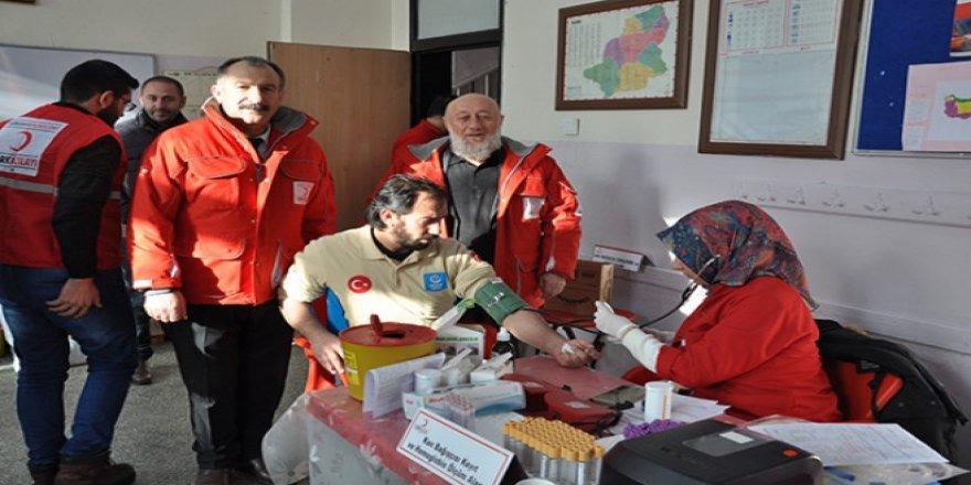 Kızılay Kars Şube Başkanlığı Kan Bağışı Kampanyası Başlattı