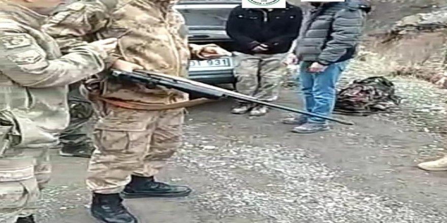 Kaçak avcı yakalandı