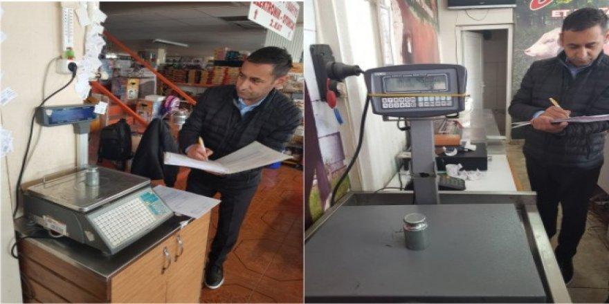 Kars'ta ölçü aletleri denetimleri devam ediyor