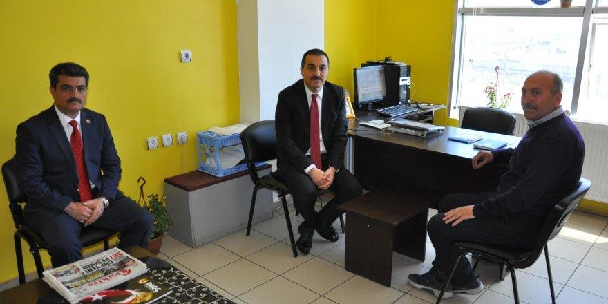 Vali Türker Öksüz' İHA'yı ziyaret etti