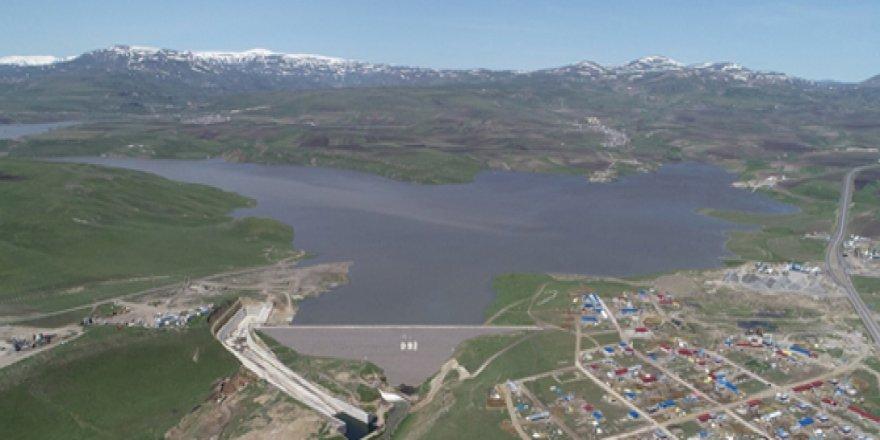 Kars Barajı'nda sular yükseliyor