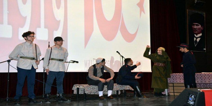 Kars'ta, Milli Mücadelenin 100. yılı etkinlikleri