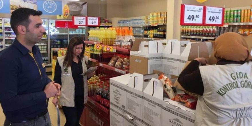 Kars'ta Ramazan ayında gıda denetimleri devam ediyor
