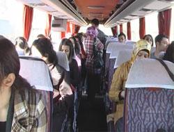 En çok otobüscüler sevindi