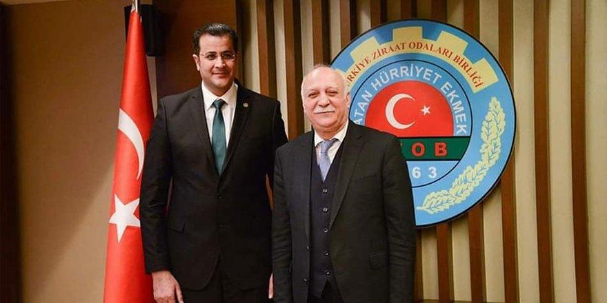 Kars Ziraat Odası Başkanı Adem Ertaş, TZOB Yönetim Kurula seçildi