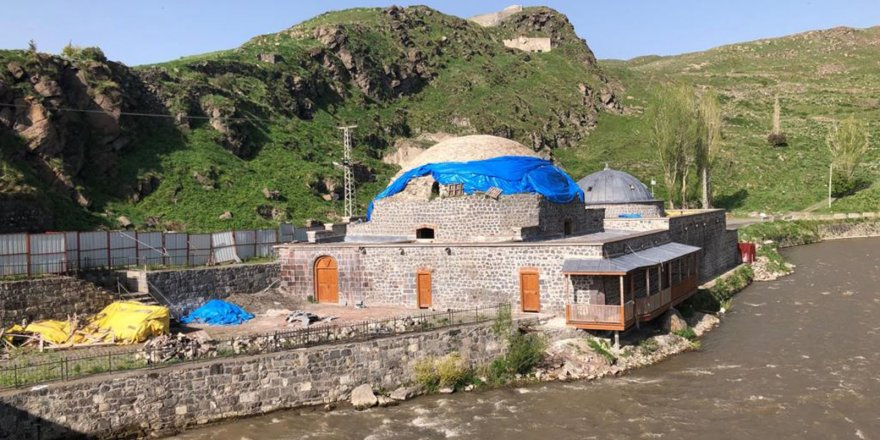 Kars'ta tarihi hamamların restorasyon çalışmaları durdu