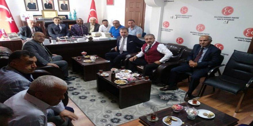 MHP, Merkez Disiplin Kurulu Üyesi Taner Gökçek Kars'ta