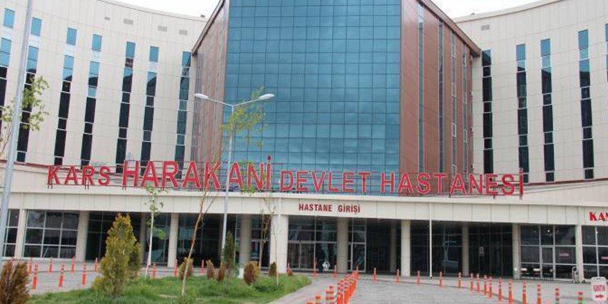 Kars Harakani Devlet Hastanesi'nde tıbbi malzeme hırsızlığı!