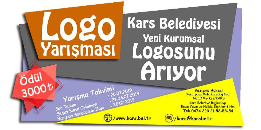 Kars Belediyesi'nin logosu değişiyor