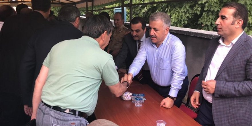 Milletvekili Ahmet Arslan'ın acı günü