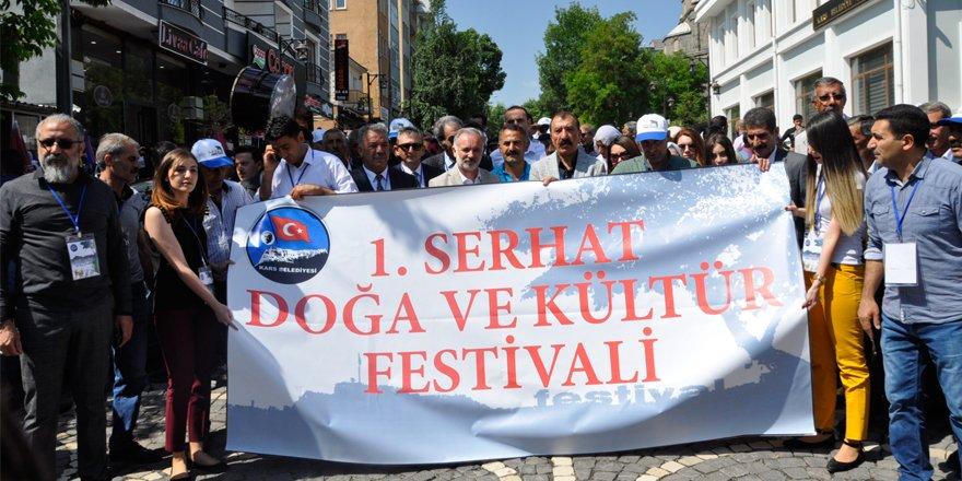 Kars'ta Serhat Doğa ve Kültür Festivali başladı