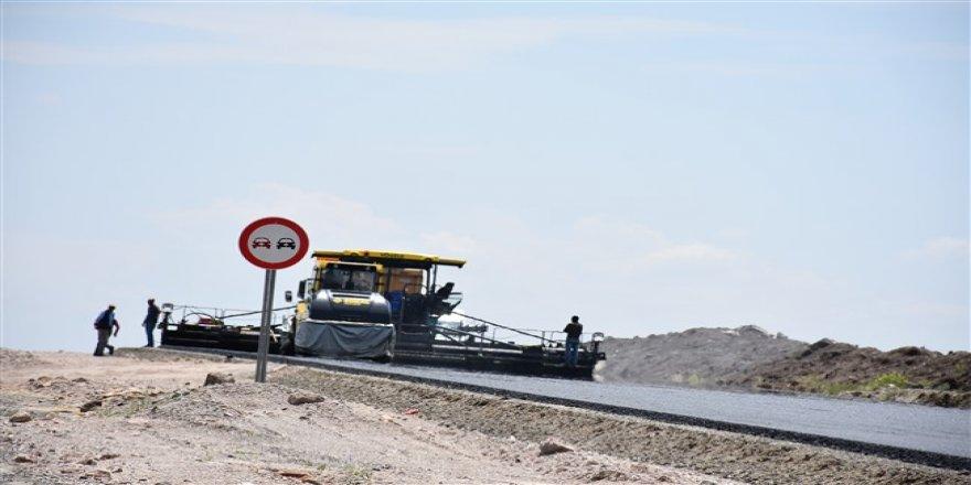Kars-Digor-Iğdır Yolu'nda çalışmalar devam ediyor
