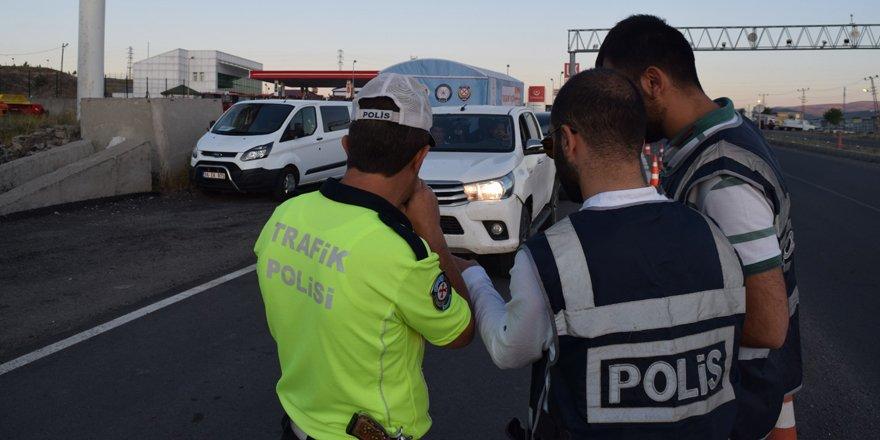 Kars polisi bayram tatilinde 5 bin kişiyi sorguladı