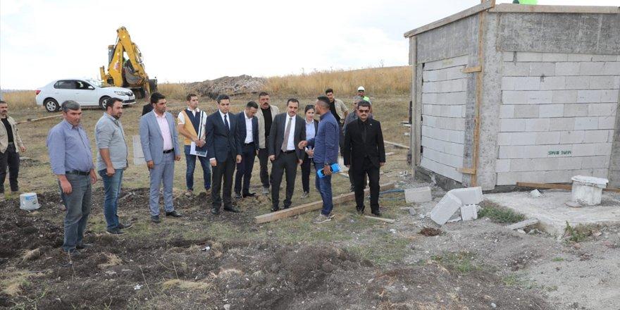 Vali Türker Öksüz, çalışmaları yerinde inceledi