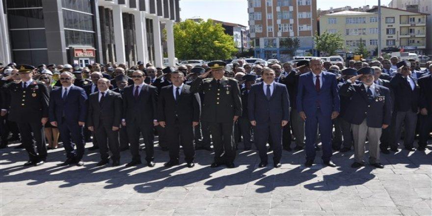 19 Eylül Gaziler Günü tören ve etkinliklerle kutlandı