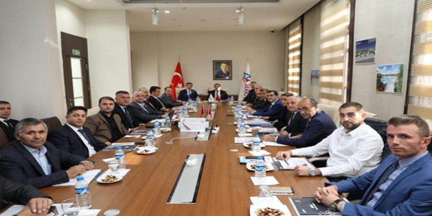 Kamu-Üniversite-Sanayi İşbirliği  Toplantısı yapıldı