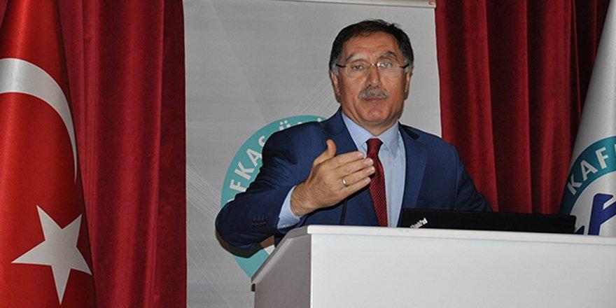 """Kamu Başdenetçisi Malkoç: """"Türkiye'yi ambargoyla kimse tehdit edemez"""""""