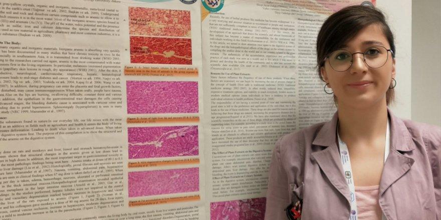 Uzman Biyolog Hatice Beşeren KAÜ'nün çalışmasını İspanyolca anlattı