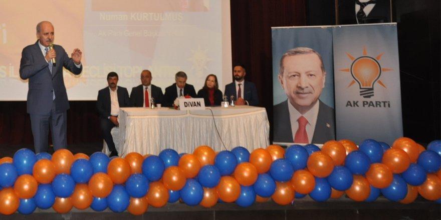 """AK Parti Genel Başkan Vekili Kurtulmuş: """"Emperyalistlere hadlerini bildireceğiz"""""""
