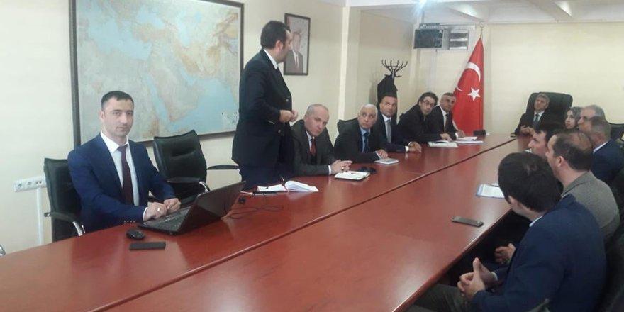 Kars İl Su Yönetimi Koordinasyon Kurulu Toplantısı yapıldı