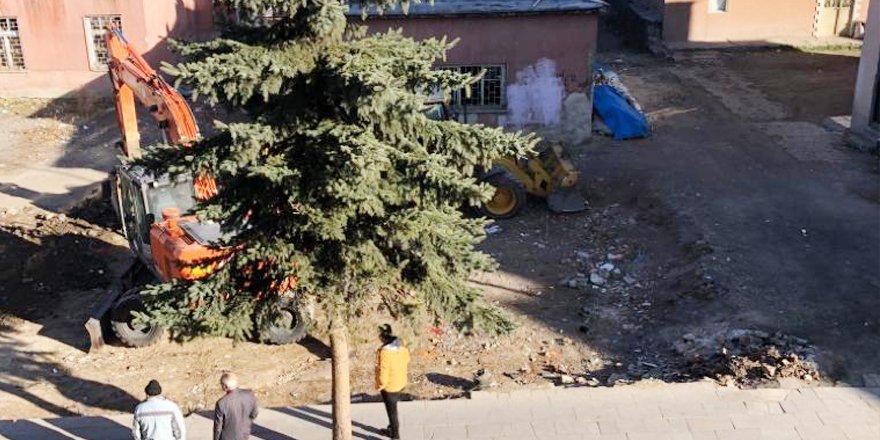 Sarıkamış'ta inşaatına başlanan umumi wc şikayet konusu