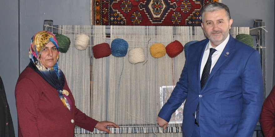MÜSAİD'dan el dokuma halıcılığa destek