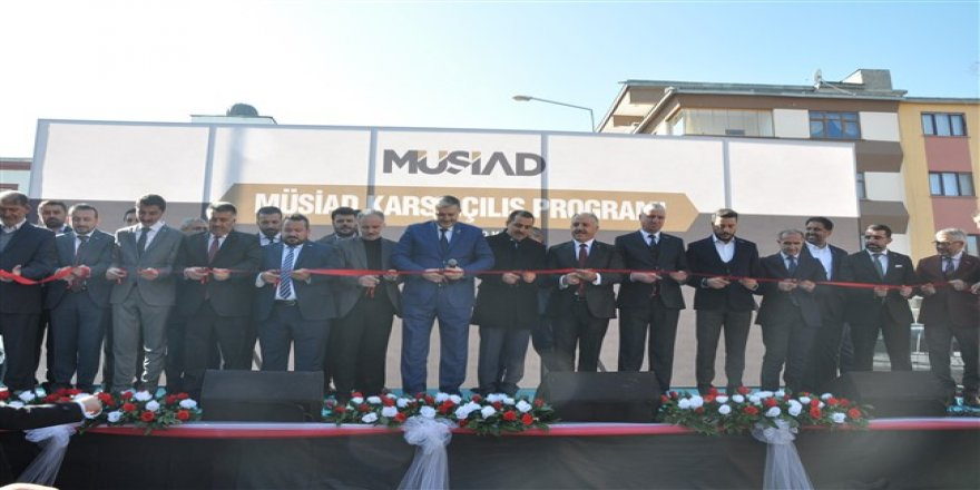 MÜSİAD 87. şubesini Kars'ta açtı