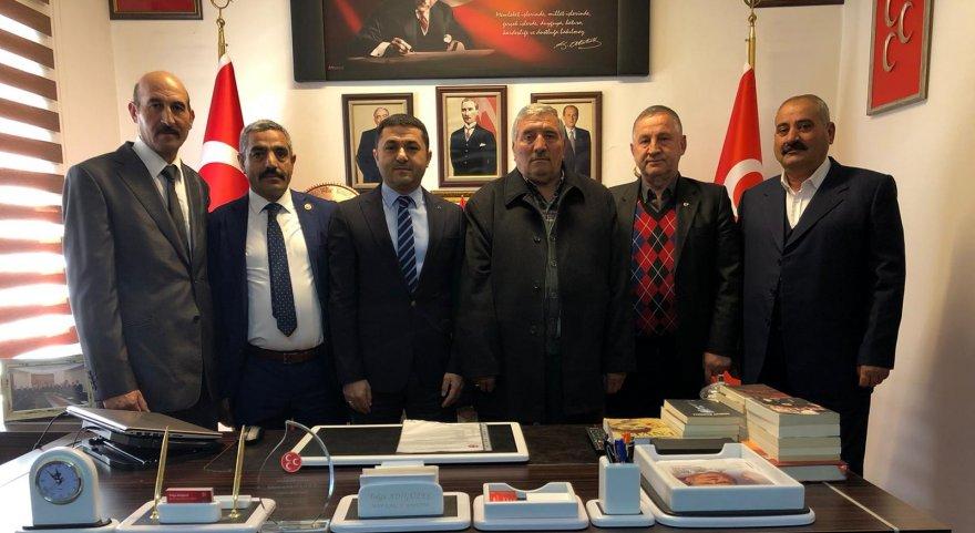 MHP Susuz ilçe teşkilatında değişim