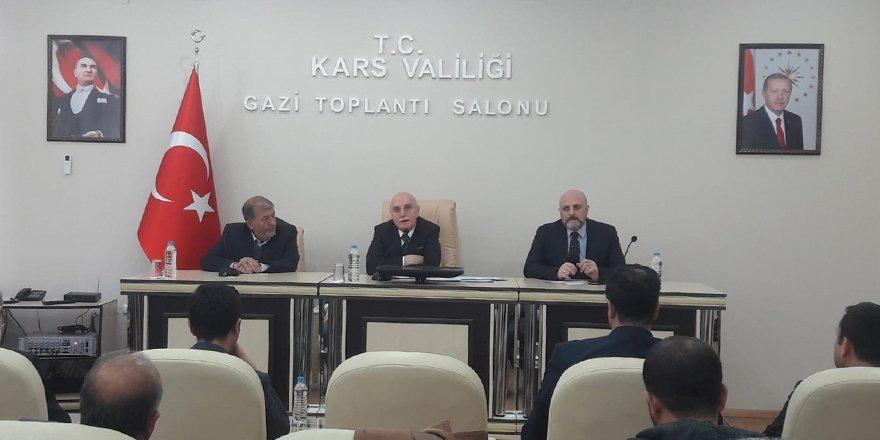 Bakan Yardımcısı Erdil Kars'ta