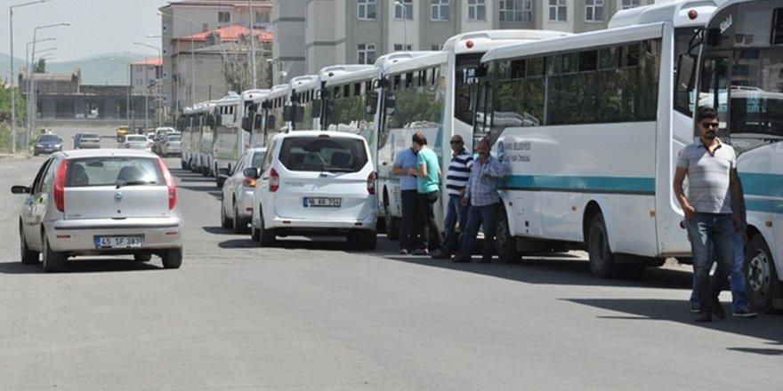 Kars'ta dolmuşlar şehit yakınlarına artık ücretsiz