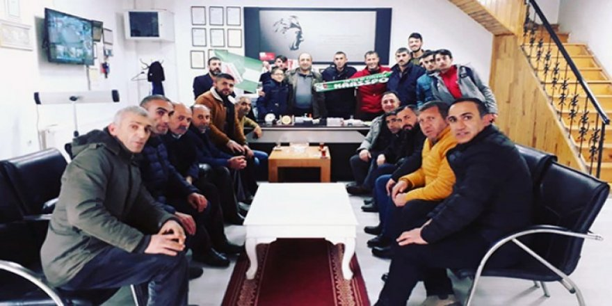 İş adamı Ali Rıza Hoşgönüllü, Kars36 Spor'u tebrik etti